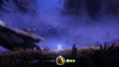 Ori and the Blind Forest. Нижние трясины