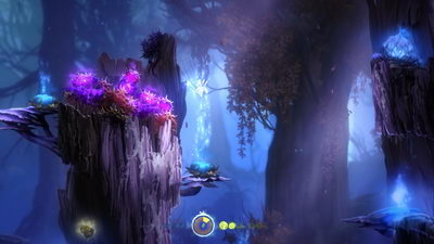 Ori and the Blind Forest. Верхние трясины