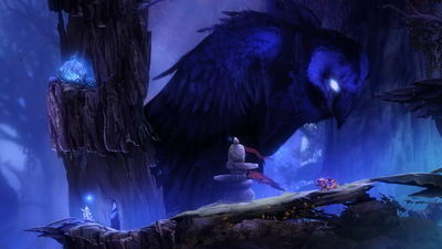 Ori and the Blind Forest. Иглистое болото