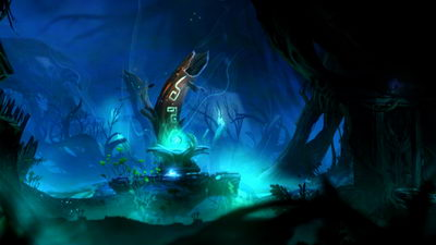 Ori and the Blind Forest. Туманный лес