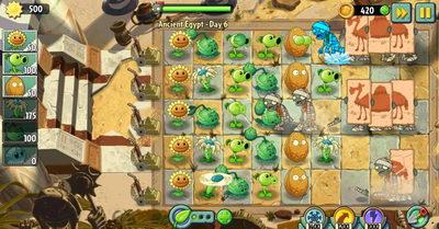 Plants vs zombies 2 прохождение игры