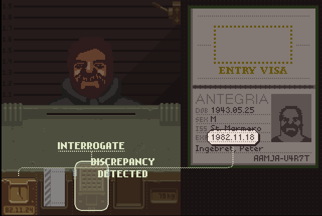 Papers, Please сверка даты