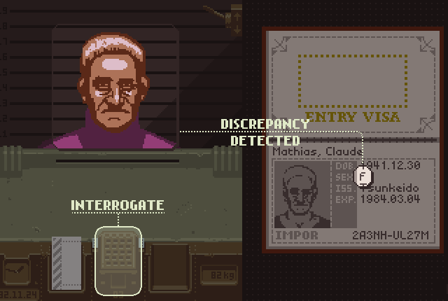 Papers, Please сверка пола