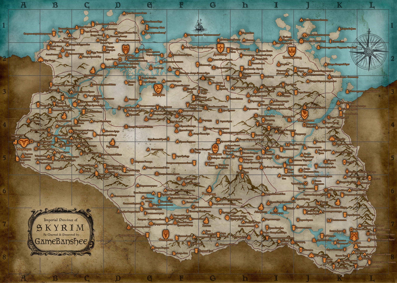 карта на которой играет скрим
