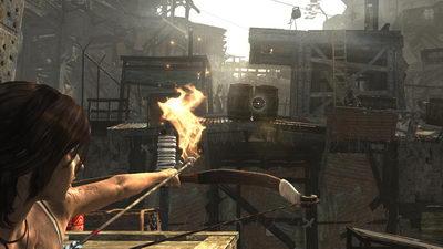 Tomb Raider (2013). Трущобы