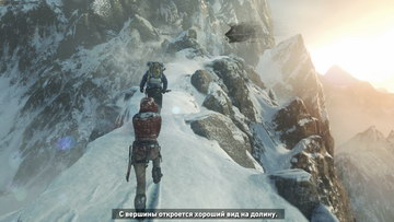 Rise of the Tomb Raider. Вершина горы