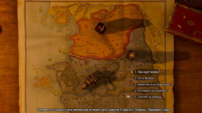 Witcher 3: Wild Hunt. Аудиенция