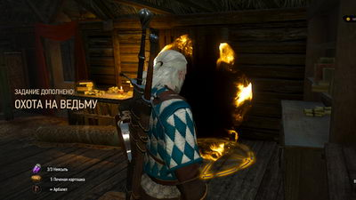 Witcher 3: Wild Hunt. Охота на ведьму