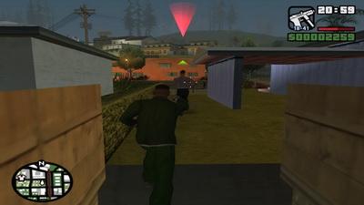 GTA San Andreas. Беглец
