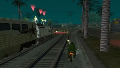 GTA San Andreas. Не по ту сторону рельс