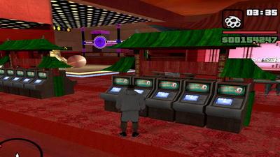 GTA San Andreas. Игровые автоматы
