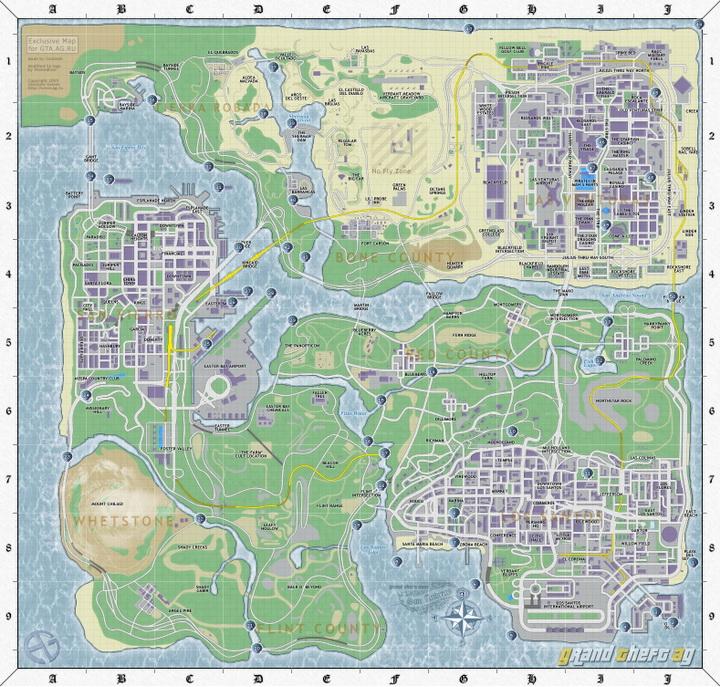 Карта коллексционных предметов