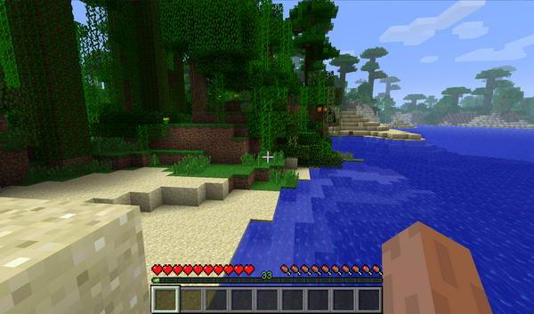 Minecraft. Начало игры