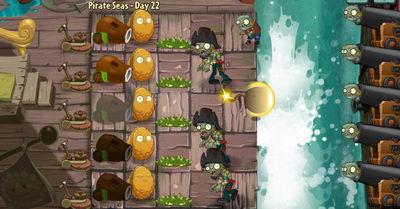 Пиратские моря. Уровень 22